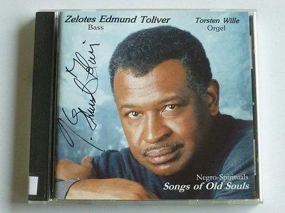 Zelotes Edmund Toliver - Songs of Old Souls (gesigneerd)