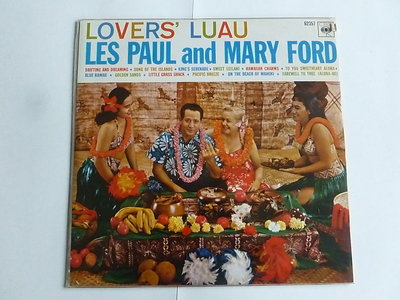 Les Paul and Mary Ford - Lovers' Luau (LP)