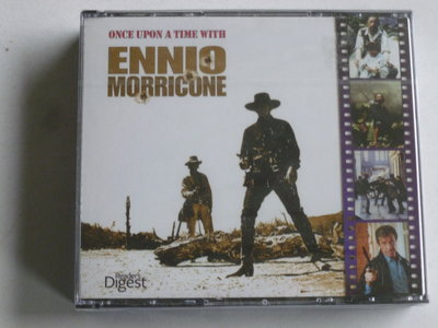 Ennio Morricone - Once upon a time with Ennio Morricone (5 CD) nieuw