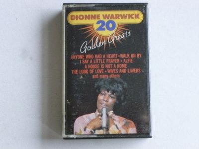 Dionne Warwick - 20 Golden Greats (cassette bandje)