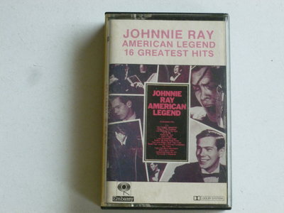 Johnnie Ray - American Legend / 16 Greatest Hits (cassette bandje)