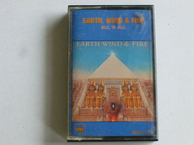 Earth Wind & Fire - All 'n All (cassette bandje)