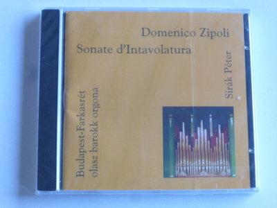 Domenico Zipoli - Sonate D'Intavolatura / Sirak Peter (nieuw)