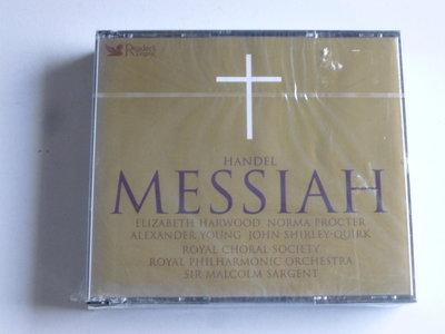 Handel - Messiah / Sir. Malcolm Sargent (2 CD) Nieuw