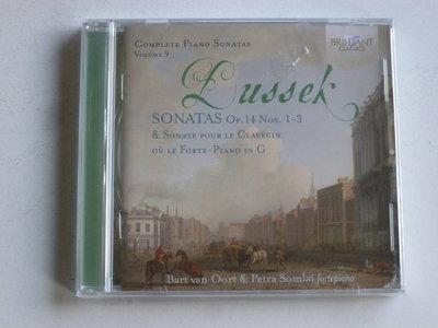 Dussek - Complete Piano Sonatas vol. 9 / Bart van Oort (nieuw)