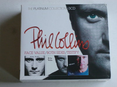 Phil Collins - Face Value / Both Sides / Testify (3 CD) Nieuw