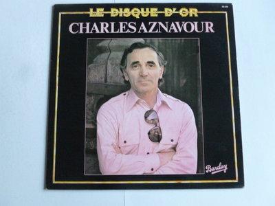 Charles Aznavour - Le Disque D' Or (LP)