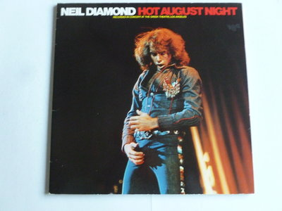 Neil Diamond - Hot August Night (2 LP) Ariola benelux