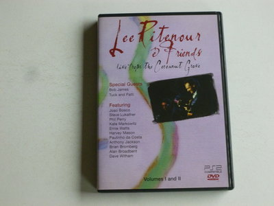 Lee Ritenour & Friends - volumes I and II / Live (DVD)