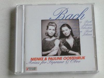 Bach - Arias for Soprano & Oboe / Nienke & Pauline Oostenrijk (vanguard classic)