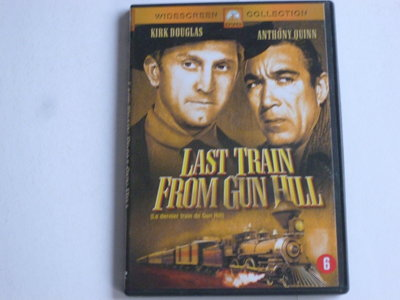 Last Train from Gun Hill - Kirk Douglas, Anthony Quinn (DVD)