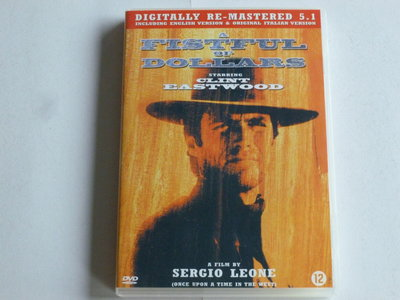 A Fistful of Dollars - Clint Eastwood (DVD)