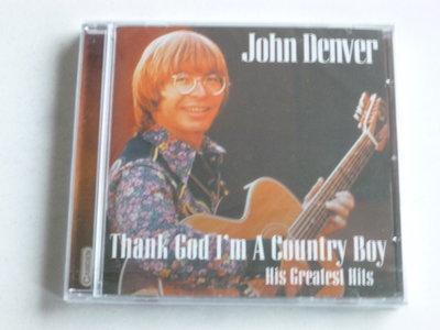 John Denver - Thank God i'm a country boy / His greatest hits (nieuw)