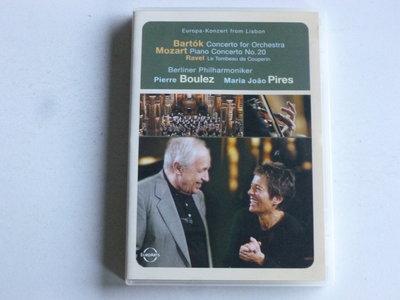 Bartok - Concerto for Orchestra / Pierre Boulez, Maria Joao Pires (DVD)