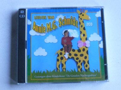 Liedjes van Annie M.G. Schmidt - De Gouden Nachtegaaltjes (2 CD) Nieuw