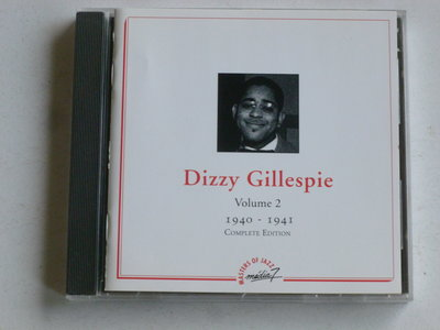 Dizzy Gillespie - Volume 2 / 1940-1941