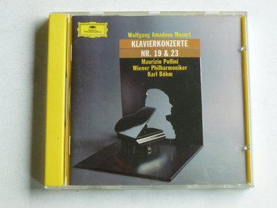 Mozart - Klavierkonzerte nr. 19 & 23 / Pollini, Karl Böhm