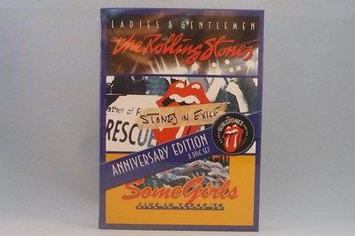 The Rolling Stones - Ladies & Gentlemen/ Stones in exile/ Some Girls 3 DVD