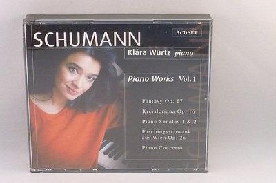 Schumann - Piano Works Vol. 1 Klara Wurtz (3 CD)