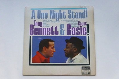 Tony Bennett & Count Basie - A One Night Stand! (LP)