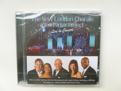 The New London Chorale - Live in Concert (nieuw)