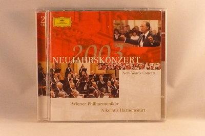 Neujahrskonzert 2003 - Nikolaus Harnoncourt (2 CD)