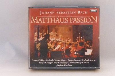 J.S.Bach - Mattäus Passion / Emma Kirkby, Stephen Cleobury (3 CD)