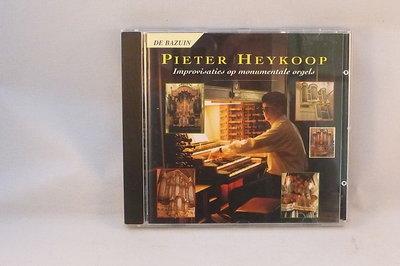 Pieter Heykoop - improvisaties op monumentale orgels