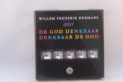 Willem Frederik Hermans - leest De God denkbaar (luister 4 CD)
