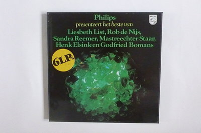 Philips presenteert het beste van Liesbeth List, Rob de Nijs, Sandra Reemer,Mastreechter Staar, Henk Elsink en Godfried Bomans