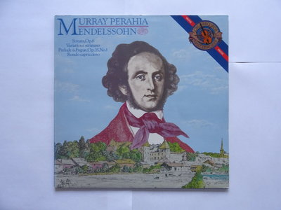 Mendelssohn - Murray Perahia (LP)