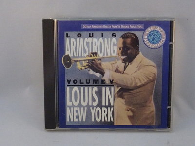 Louis Armstrong - Vol.V Louis in New York