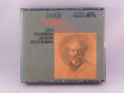 Dvorak - Symphonies nos. 1, 2, 3 / Vaclav Neumann