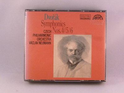 Dvorak - Symphonies nos. 4, 5, 6 / Vaclav Neumann (2 CD)