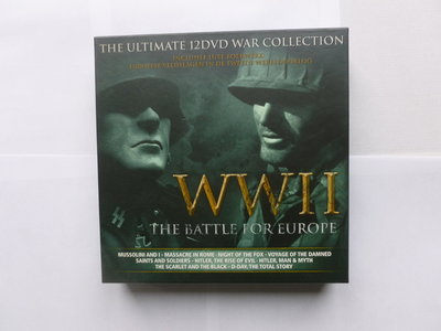 The Ultimate 12 DVD War Colection - WWII The Battle for Europe (12 DVD