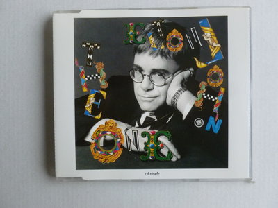 Elton John - The One (CD Single)