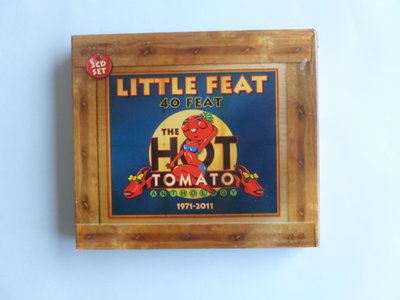 Little Feat - 40 Feat. The Hot Tomato Anthology (3 CD)