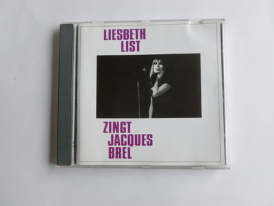 Liesbeth List - Zingt Jacques Brel