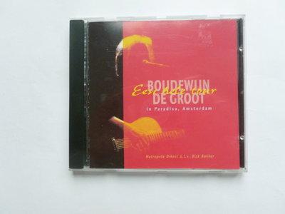 Boudewijn de Groot - Een hele tour / in Paradiso