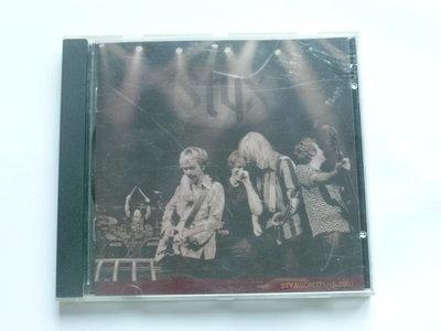 Styx - Word Live 2001
