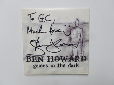 Ben Howard - Games in the Dark (gesigneerd)