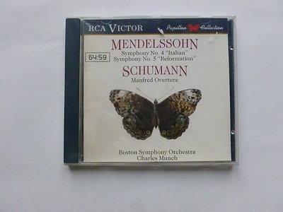 Mendelssohn / Schumann - Charles Munch