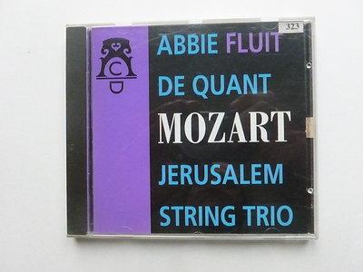 Mozart - Abbie de Quant / Jerusalem String Trio