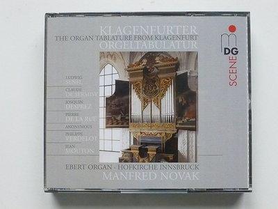 Manfred Novak - The Organ Tablature from Klagenfurt (2 CD)