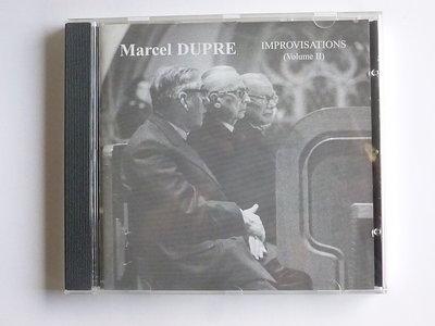 Marcel Dupre - Improvisations Volume II