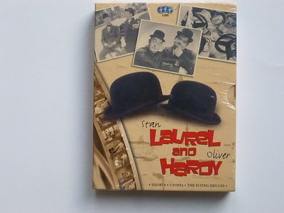 Laurel and Hardy (3 DVD) nieuw