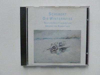 Schubert - Die Winterreise / Bernard Kruysen / Gerard van Blerk
