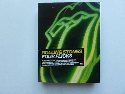 Rolling Stones - Four Flicks (4 DVD)