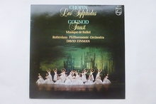 Chopin - Les Sylphides / Rotterdam Philharmonic Orchestra David Zinman (LP)