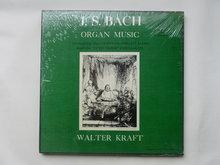 J.S.Bach - Organ Music / Walter Kraft (3 LP)nieuw